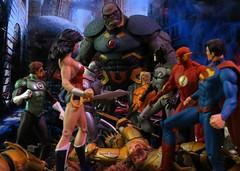 Justice League War (Darth Primus 333) Tags: justiceleague new52 justiceleaguewar dccollectibles jimlee superman batman wonderwoman aquaman greenlantern flash cyborg darthprimus darkseid