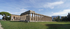 Greek temples of Paestum (kate223332) Tags: paestum provinceofsalerno campania italy architecture archeology antiquity doricorder museum