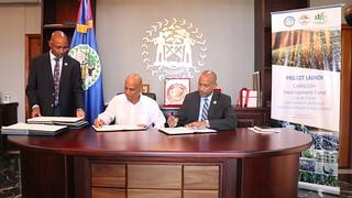 CDF Agreement Signing