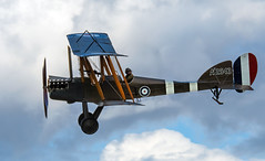 WW1 Look out.. (mickb6265) Tags: oldwarden shuttleworthcollection bedfordshire bedford ww1 rfc be2c a2943 blackburn