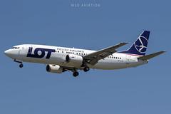 Boeing 737-45D SP-LLE LOT Polish Airlines (msd_aviation) Tags: lot polishairlines boeing boeing737 b737400 b734 boeing737classic bcn lebl barcelonaelprat barcelona barcelonaairport aviation landing spotting planespotters