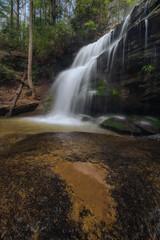 Wrong Turn Falls (shanahanphotography) Tags: spring blackmountain landscape waterfall asheville nature northcarolina mountains wnc smokymountains blueridgeparkway blueridge mountain