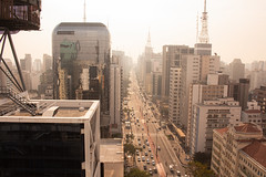 [ Paulista ] (Marcos Jerlich) Tags: pov avenue street buildings architecture panoramic depht urban metropolitan downtown city skyline sky goldenhour sunset contrast antennas colour colourful light lightroom flickr paulista sãopaulo brasil américadosul canon canont5i canon700d efs1855mm marcosjerlich