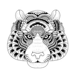 attractive tiger head coloring page (M. Masserann) Tags: abstract adultcoloringpage animal animalhead art beast beautiful black coloringpage decoration decorative detailed doodle drawing exquisite fluffy fur gorgeous illustration imposing isolated line liner manner monochrome nature ornament outline pattern print rare tattoo tiger totem trendy vector wallpaper white wild newtaipeicity taiwan