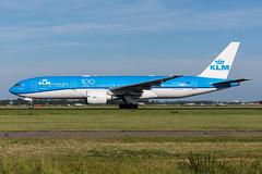 PH-BQD - KLM Royal Dutch Airlines - Boeing 777-206(ER) (5B-DUS) Tags: dutch amsterdam plane airplane airport aircraft aviation royal boeing flughafen klm airlines flugzeug schiphol ams spotting eham planespotting b772 777206er phbqd
