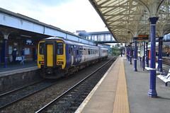 Northern Class 156 156438 - Altrincham (dwb transport photos) Tags: arriva northern dmu sprinter 156438 altrichham