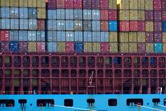 stacks (the ripped bystander) Tags: container ship