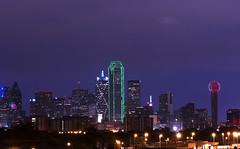 Texas (US Department of State) Tags: dallastexas skyline city buildings lights dusk building us unitedstates