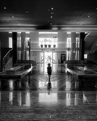 Supersymmetry (Mister Blur) Tags: blackandwhite noiretblanc blancoynegro iphoneography iphone xr reflection symmetry supersymmetry arcade fire thegrand moon palace cancún rivieramaya resort hall salón elitegalleryaoi bestcapturesaoi aoi