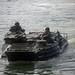 Marines drive a Philippine assault amphibious vehicle during an AAV subject matter expert exchange