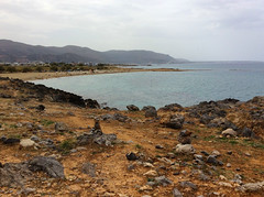 Beach in Malia / Плажът в Маля (mitko_denev) Tags: kreta griechenland крит гърция κρήτη crete greece hellas ελλάσ ελλάδα μάλια маля малия malia mallia beach sea seaside strand плаж море средиземноморе mediterranean landscape seascape пейзаж