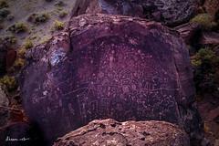 Sky Rock (dheera.net) Tags: petroglyph volcanic native american ancient ruins sierra california bishop rocks boulders sunset usa history historic tribal sky prehistoric