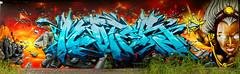 Graffiti 2019 in Karlsruhe (pharoahsax) Tags: bw graffiti karlsruhe ka pmbvw world street urban streetart get art colors wall writing germany painting deutschland artwork mural paint artist kunst tag tags spray peinture urbanart painter writer graff baden legal spraycan moter württemberg süden worldgetcolors