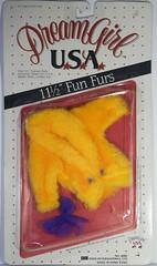 Deramgirl doll fashions Fun Furs (CooperSky) Tags: deramgirl doll fashions fun furs yellow orange