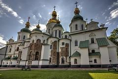 Saint Sophia Cathedral (Laurie4593) Tags: saint sophia cathedral church europe ukraine kyiv ancient religous orthodox architecture christian beautiful