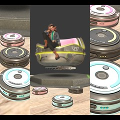 MadPea Roaming Robot Vacuum (sotwinkling) Tags: second life sl secondlife 3d world madpea vacuum robot roaming cleaning clean city room cleanup up mute sound radius move around home position future cyber bot