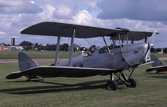 Tiger Moth (Pentakrom) Tags: british aerospace bae hatfield 1980 de havilland dh82 tiger moth ganew