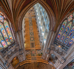 Ely Cathedral, Cambridgeshire - the Crossing (JackPeasePhotography) Tags: autumn 2019 sony ely cathedral cambridgeshire tower view octagon nave architecture arches