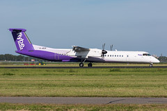 G-JECP - Flybe - Bombardier DHC-8-402Q Dash 8 (5B-DUS) Tags: gjecp flybe bombardier dhc8402q dash 8 dh8d ams eham amsterdam schiphol airport aircraft airplane aviation flughafen flugzeug planespotting plane spotting