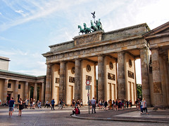 Just another shot of the Brandenburg Gates/Brandenburger Tor (Sally E J Hunter) Tags: brandenburggate brandenburgertor neoclassical berlin unterdenlinden germany deutschland carlgotthardlanghans mitte