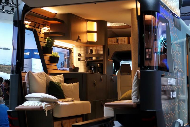 Caravan Salon Düsseldorf Germany 2019 Hymer Concept