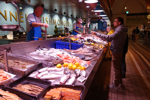 The famous Fish Monger's stand