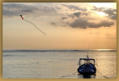 sky and water (Canon makes it too easy !!!!!) Tags: snoad snoady australia bali beach surf fun bikini model babe sunse t kites boats ocean canon eosr 5d4