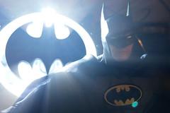 The Bat Signal (misterperturbed) Tags: mezco mezcoone12collective sovereignknight blue batman dccomics pxexclusive one12collective rays batsignal