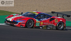 #51 AF Corse Ferrari GTE Pro (Andrew Harbey Photography) Tags: silverstone wec world endurance championship circuit track race racing drive driver driving competition fia sun sunny sunshine ferrari 488 gte evo 51 af corse pro smp dhl michelin shell james calado alessandro pier guidi vale motorsport