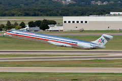 N980TW, American Airlines, McDonnell Douglas MD-83, KDFW, September 2019 (a2md88) Tags: