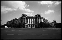 Bucaresti (Michael Kommarov) Tags: 35mm nikon f3 voigtlander black white film analog lomography 58mm 40mm 20mm bucharest wide angle