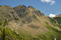 Grinnell Glacier Pathway (Valley Imagery) Tags: glacier national park highline trail grinnel overlook hiking views mountain landscape montana usa summer sony a99ii 70400gii granite chalet