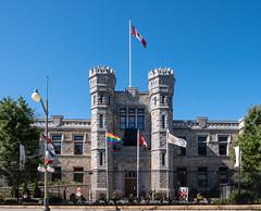 The Royal Canadian Mint (Caffe_Paradiso) Tags: ottawa royalcanadianmint rainbowflag