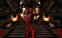In the hall of the demon king (beccaprender) Tags: catwa catya bento maitreya lara lumae lorelai mina ghoul roawenwood sweetthing conviction demon demoness fantasy pandemonium hell