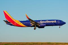 N8580Z Boeing 737-8H4 Southwest (SamCom) Tags: kdal lovefield dallaslovefield swa southwest southwestairlines n8580z boeing 7378h4 b738