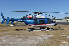 VH-TOR BELL 427 BECKER HELICOPTERS (QFA744) Tags: vhtor bell 427 becker helicopters