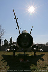 Su-22 M3 (srkirad) Tags: aircraft airplane jet attack fighter military sukhoi su22m3 fitter aviationmuseum aviation museum reptar szolnok hungary russian hungarian sky sun sunflare sunny