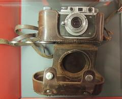 Soviet camera (Anita363) Tags: camera soviet russian kmz antique riga latvia museum museumoftheoccupationoflatvia zorki zorki1 zorki1c