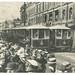 Official opening of the tram service, Brisbane Street, Launceston. Number 1 tram (Elphin Road) and number 4 (Mowbray). Vandyck Studios (1911)