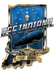 WASHINGTON (April 27, 2017) The official crest of the Virginia-class fast attack submarine USS Indiana (SSN 789). (aeroman3) Tags: washington va unitedstates