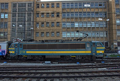 SNCB Belgian Railways Class 27 electric loco No. 2738 at Brussels 190822-Midi on 22 Aug 2019 (Trains and trams eveywhere) Tags: acec bn sncb belgium benelux railways trains brussels class 27 locomotive electric station bruxelles bruxellescentral brusselcentraal