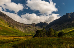 Buttermere (selvagedavid38) Tags: nationalpark lakedistrict hills mountains sky trees clouds blue green countryside scenic landscape