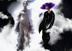 FLAWZ Autumn 2019: Pretending I Give In (Venus Germanotta) Tags: secondlife fashion fierce sickening hautecouture couture flawz flawzmagazine magazine spread editorial photoshop graphicdesign design irisvanherpen ivh duo shapes curves fantasy avantgarde runway highfashion ethereal alien alienfashion cunty bob haircouture mask sheer spirals black white smoke gas scene icons duality dark ominous light lighting perspective atmosphere popculture purple purplehair lavenderblonde aesthetic latex metal material texture vibrant shadows manipulation fantasea fantastic landscape surreal surrealism vogue trend trendsetter outerspace galaxy stars cosmos otherworldly dimension space time gowns style