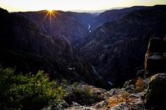 Sunset - Black Canyon of Gunnison National Park[Explored] (Bernie Duhamel) Tags: colorado bernie duhamel greatphotographers teamsony sunset sonya7riii blackcanyonofgunnisonnationalpark canyon gunnison river