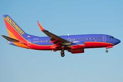 N717SA Boeing 737-7H4 Southwest (SamCom) Tags: kdal lovefield dallaslovefield swa southwest southwestairlines n717sa boeing 7377h4 b737