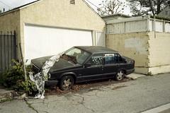 Abandoned (ADMurr) Tags: la auto fairfax volvo borat drapery garage leica m6 kodak 200 50mm summicron dba850