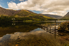 Buttermere (selvagedavid38) Tags: lake lakedistrict nationalpark mountains sky clouds water hills green cumbria england scenic landscape leau house