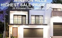 26 Kindelan Road, Winston Hills NSW