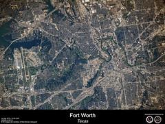 Fort Worth - Texas (RikyUnreal) Tags: iss expedition60 usa