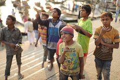 Bangladesh, street children in Dhaka (Dietmar Temps) Tags: asia bangladesh boys children culture developingcountry dhaka homelessness human humanity kid loneliness orphan outdoor people person poor poverty streetchildren streetkids streetyouth young fun kites